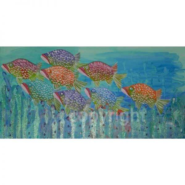 KerryT artwork for sale Fish Travels