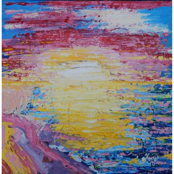 KerryT artwork for sale Fleurieu Sunset