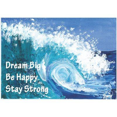 KerryT print for sale Let Me Go Surfing Dream Big