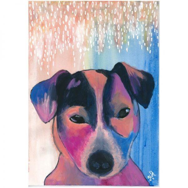 KerryT print for sale Ollie Jack Russel