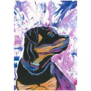KerryT print for sale Rottie