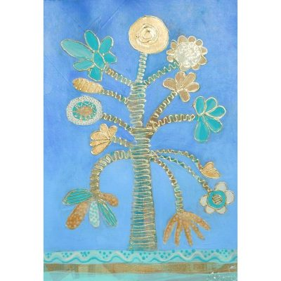 KerryT print for sale Tree Gold