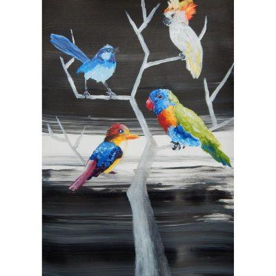 KerryT print for sale Tree Of Birds