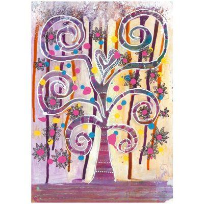 KerryT print for sale Tree Sunset