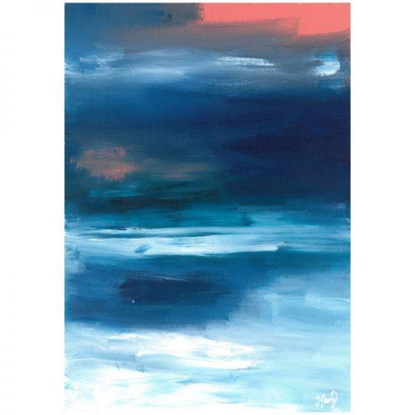 KerryT art for sale Summer 2020 - Beach Sunset