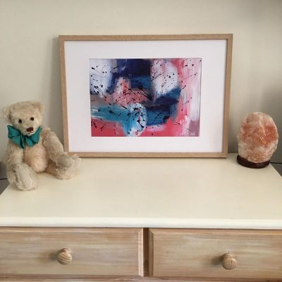 KerryT print for sale Summer 2020 - Brave framed A3