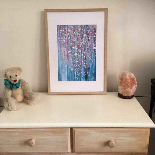 KerryT print for sale Summer 2020 - Celebration framed A3