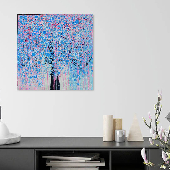 Dreaming of a Sapphire KerryT wallart