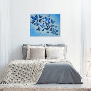 Peaceful Butterflies KerryT wallart