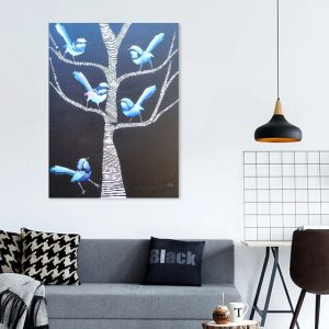 What are you chirping about KerryT wallart