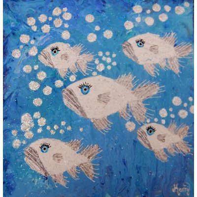 KerryT artwork for sale Fishes Playground