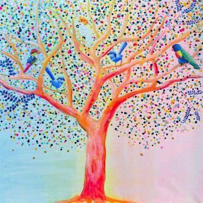 KerryT artwork for sale Listen to the Birds