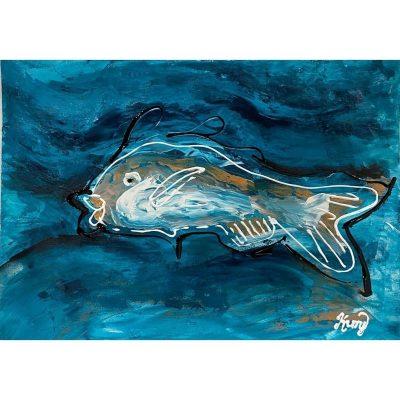 KerryT artwork for sale Rough Seas