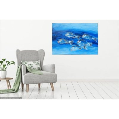 KerryT wall art for sale School of Fish