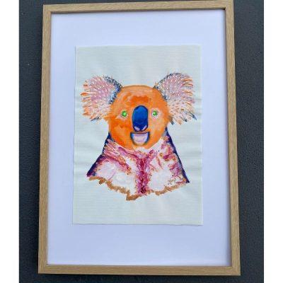 KerryT wall artwork Quirky Koala