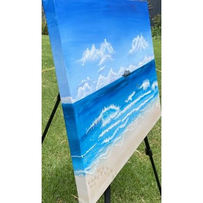 KerryT Artwork Beach Cruise Holiday side view