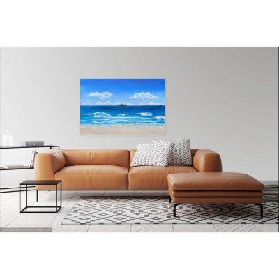 KerryT Painting Beach Cruise Holiday
