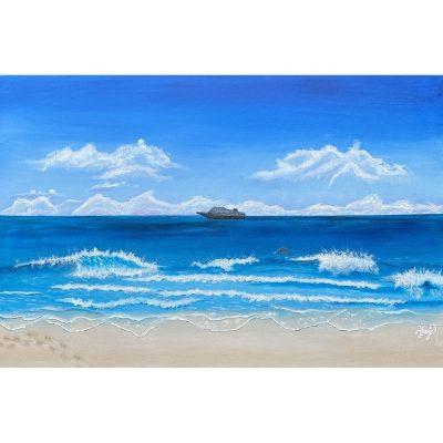 KerryT artwork Beach Cruise Holiday