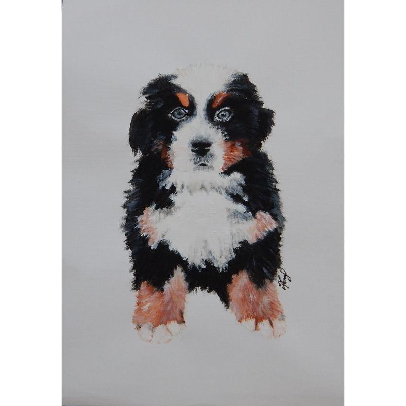 KerryT My Friend's Dog artwork
