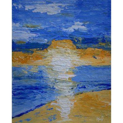 KerryT artwork Glenelg Beach Sunset