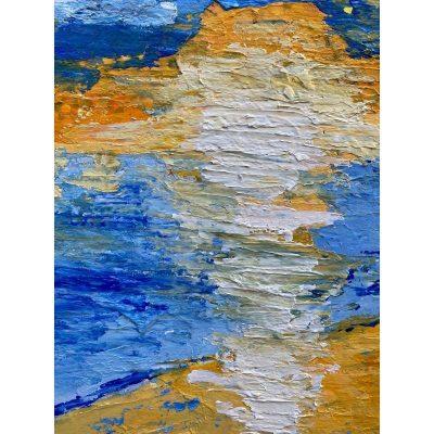 KerryT artwork closeup Glenelg Beach Sunset