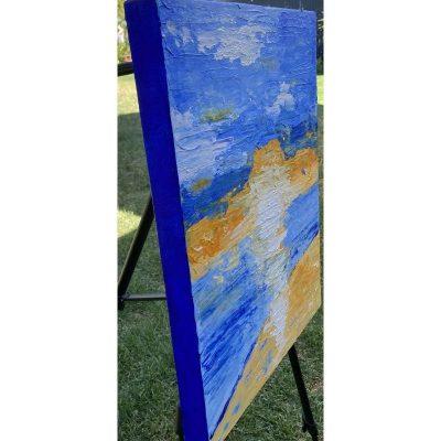 KerryT artwork side Glenelg Beach Sunset