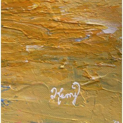 KerryT artwork signature Glenelg Beach Sunset