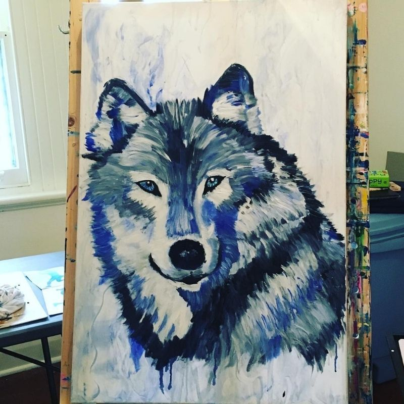 KerryT commission wolf