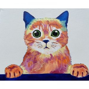 KerryT Cheeky Cat artwork