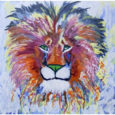 KerryT artwork Courage of a Lion