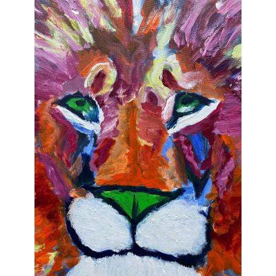 KerryT artwork Courage of a Lion close