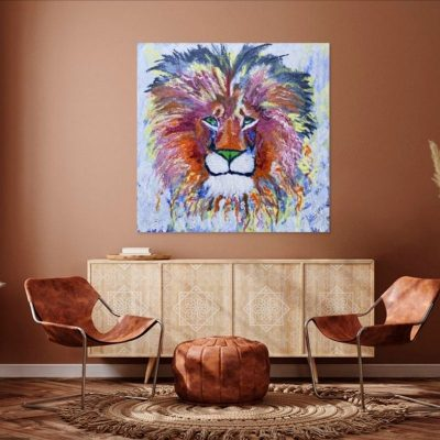 KerryT wall art Courage of a Lion