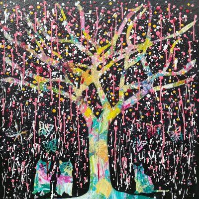 KerryT artwork Shower me in good times