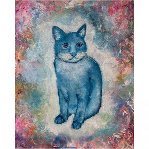 KerryT artwork Kitty Cat Blues